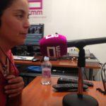 2019-06-18 RAquel en entrevista radio CMM - PAsaba por alli